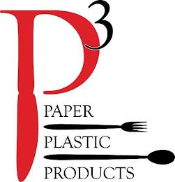 P³ PAPER PLASTIC PRODUCTS trademark