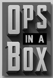 OPS IN A BOX trademark