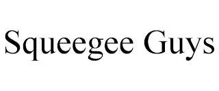 SQUEEGEE GUYS trademark