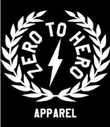 ZERO TO HERO APPAREL trademark