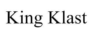 KING KLAST trademark