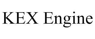 KEX ENGINE trademark