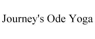 JOURNEY'S ODE YOGA trademark