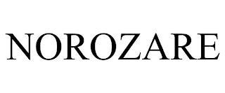 NOROZARE trademark