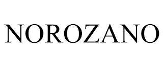 NOROZANO trademark