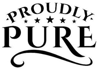 PROUDLY PURE trademark
