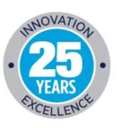 25 YEARS INNOVATION EXCELLENCE trademark