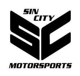 SC SIN CITY MOTORSPORTS trademark