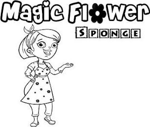 MAGIC FLOWER SPONGE trademark