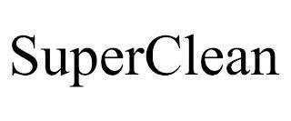SUPERCLEAN trademark