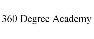 360 DEGREE ACADEMY trademark