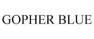 GOPHER BLUE trademark