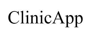 CLINICAPP trademark