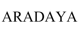 ARADAYA trademark