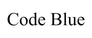 CODE BLUE trademark