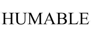 HUMABLE trademark