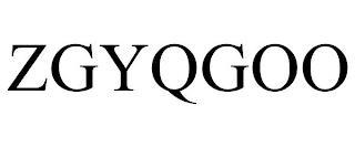 ZGYQGOO trademark
