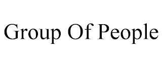 GROUP OF PEOPLE trademark