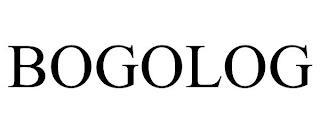 BOGOLOG trademark