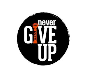 MOVE NEVER GIVE UP trademark