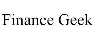 FINANCE GEEK trademark