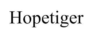 HOPETIGER trademark