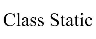 CLASS STATIC trademark