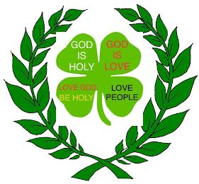 GOD IS HOLY GOD IS LOVE LOVE GOD. BE HOLY LOVE PEOPLE trademark