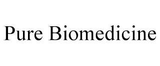 PURE BIOMEDICINE trademark