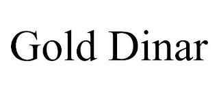 GOLD DINAR trademark