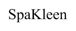 SPAKLEEN trademark