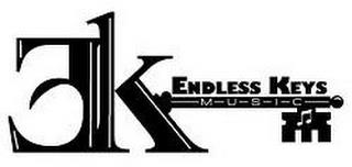 EK ENDLESS KEYS M U S I C trademark