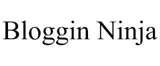 BLOGGIN NINJA trademark