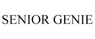 SENIOR GENIE trademark