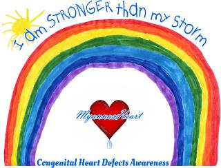I AM STRONGER THAN MY STORM MYANNASHEART CONGENITAL HEART DEFECTS AWARENESS trademark