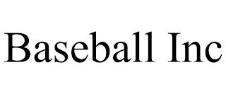 BASEBALL INC trademark
