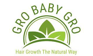 GRO BABY GRO HAIR GROWTH THE NATURAL WAY trademark