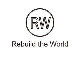 RW REBUILD THE WORLD trademark