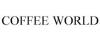 COFFEE WORLD trademark