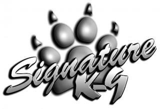 SIGNATURE K-9 trademark
