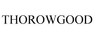 THOROWGOOD trademark