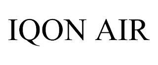 IQON AIR trademark