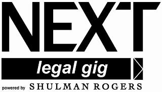 NEXT LEGAL GIG POWERED BY SHULMAN ROGERS trademark