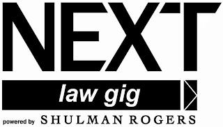 NEXT LAW GIG POWERED BY SHULMAN ROGERS trademark
