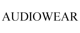AUDIOWEAR trademark