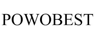 POWOBEST trademark