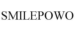 SMILEPOWO trademark