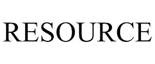 RESOURCE trademark