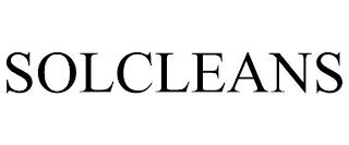 SOLCLEANS trademark