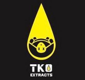 TKO EXTRACTS X X trademark
